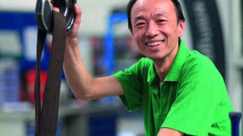 Fertigung vor Ort: Das Pumpenwerk in Lanzhou im Nordwesten Chinas ist neben Schanghai der zweite Produktionsstandort des Maschinenbauers Netzsch im Reich der Mitte. Exportiert wird trotzdem viel. Foto: Werk