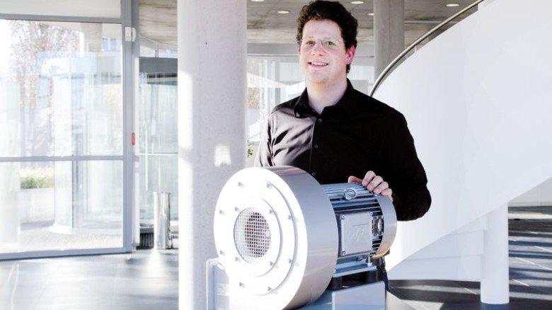 Experte für Luft: Stefan Recker optimiert bei Elektror sämtliche Modelle. Foto: Werk