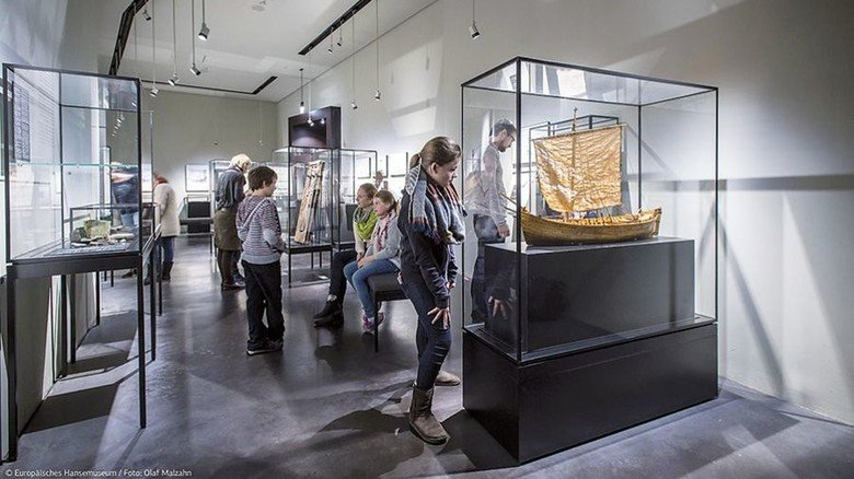 Anschaulich: Die Geschichte der Hanse wird im Lübecker Museum anhand zahlreicher Exponate dargestellt. Foto: Malzahn