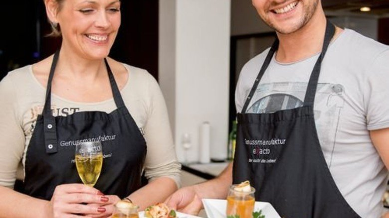 "Liebe geht durch den Magen: Kochkurs ""Aphrodite"" in der Kochschule Böblingen. Foto: Veranstalter"