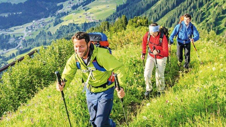 Wandern in den Allgäuer Alpen: Auch sie sind ein beliebtes Reiseziel.