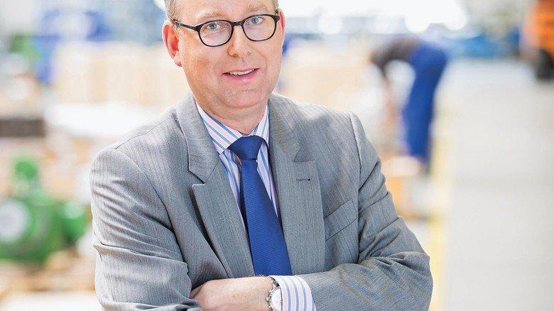 Firmenchef: Sven Wieczorek wurde erst Geschäftsführer und dann Inhaber.
