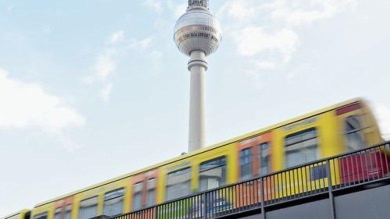Berliner Funkturm: Jedes dritte deutsche Start-up gründet sich in der Hauptstadt. Foto: Roth
