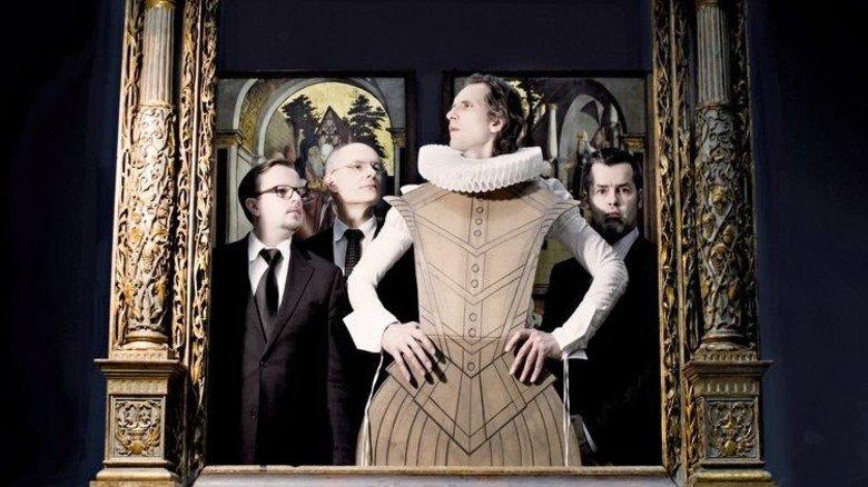 "Klangvolle Töne: Musik der Renaissance mit dem Ensemble ""Stimmwerck"" in Regensburg. Foto: Stimmwerck"