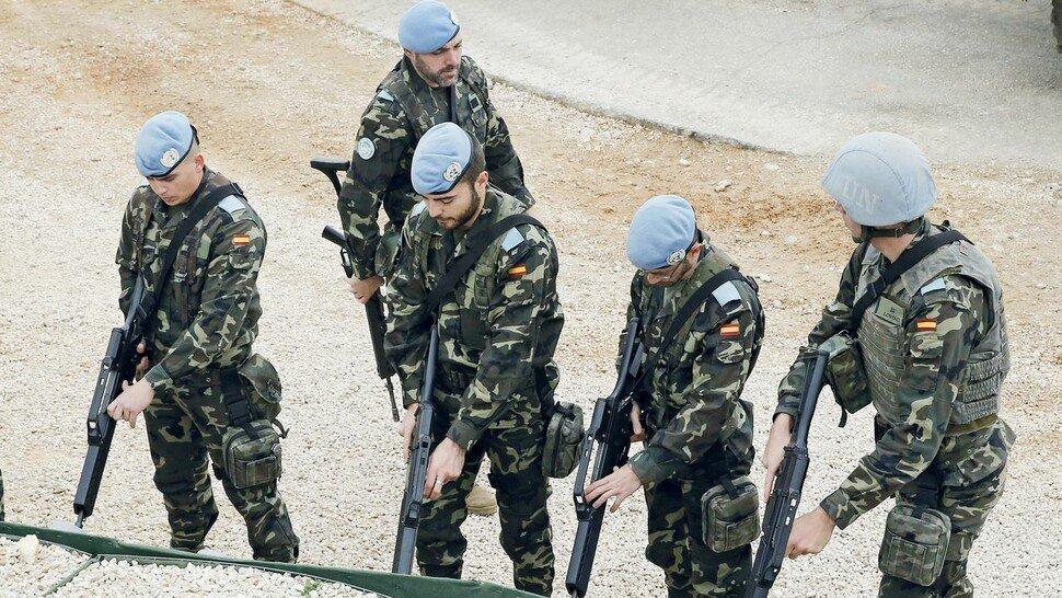 Blauhelme: Auf Friedensmissionen rund um den Globus.