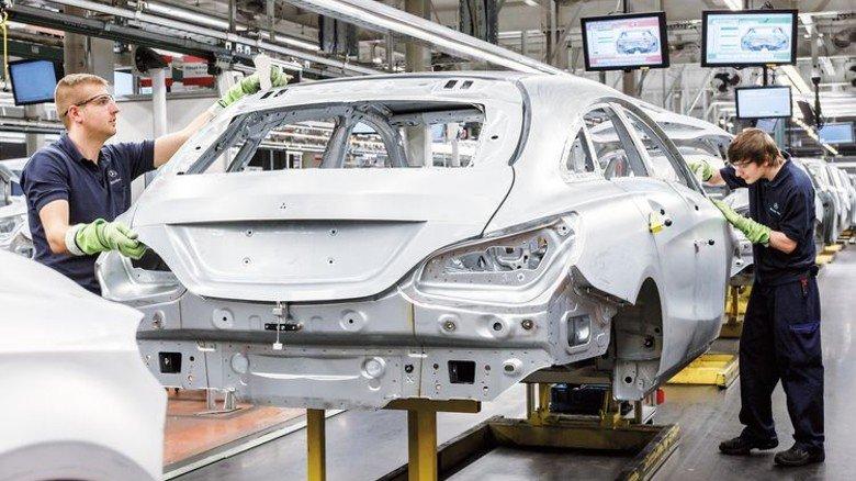 So modern wie bei uns: Daimler produziert im ungarischen Kecskemét. Foto: Werk