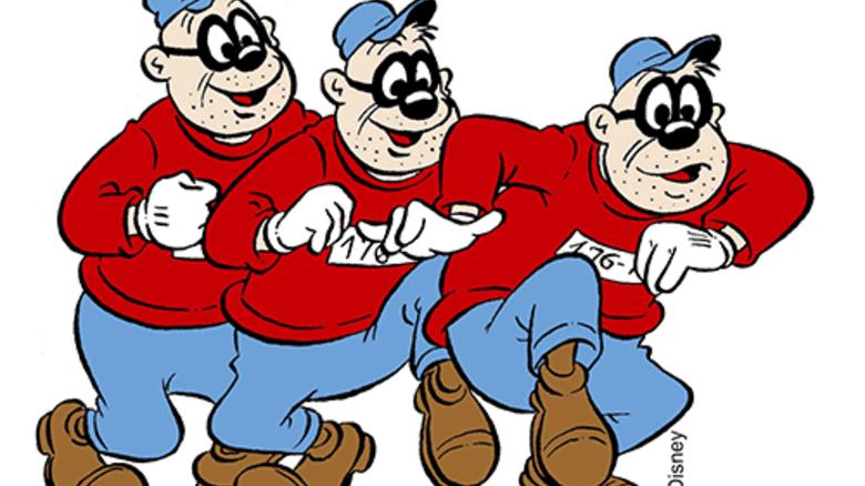 Ganoven: Im Comic sympathisch dämlich. In Wahrheit gefürchtet. Bild: Disney