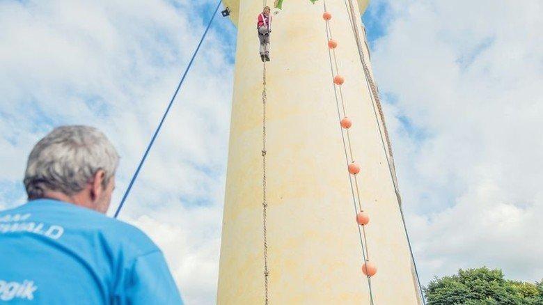 Märchenhaft: Rapunzel-Turm in Legau. Foto: Rapunzel Naturkost