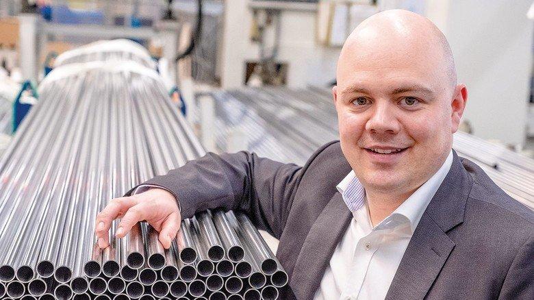Geschäftsführer: Till Neumann setzt auf innovative Produkte und engagierte Mitarbeiter.