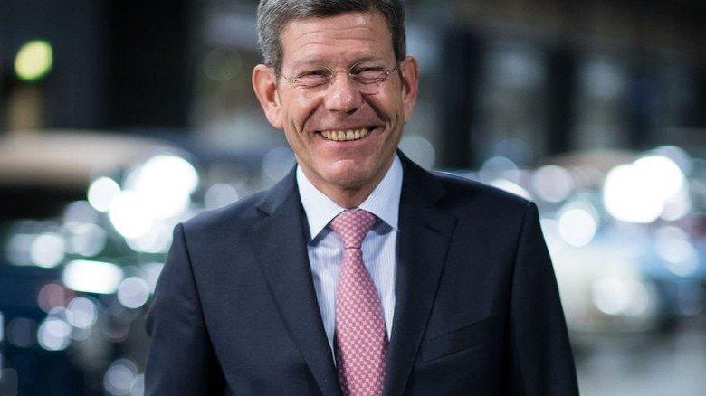 Bernhard Mattes, Präsident des Verbands der Automobilindustrie (VDA), beim Neujahrsempfang. Foto: dpa