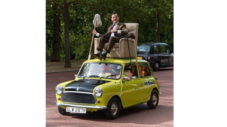 Kult-Figur: Als Mr. Bean gerät Rowan Atkinson in skurrile Situationen. Foto: dpa