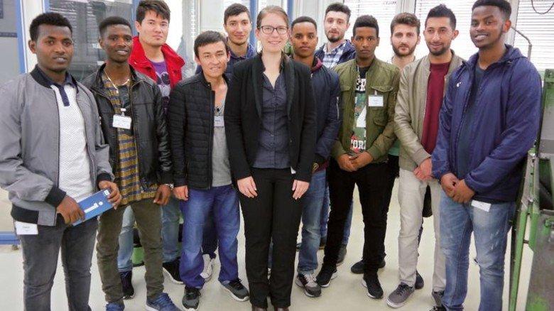 Erfolg: Die meisten Teilnehmer konnten dank des Projekts eine Ausbildung in der Metall- und Elektro-Industrie beginnen. Foto: Nordmetall