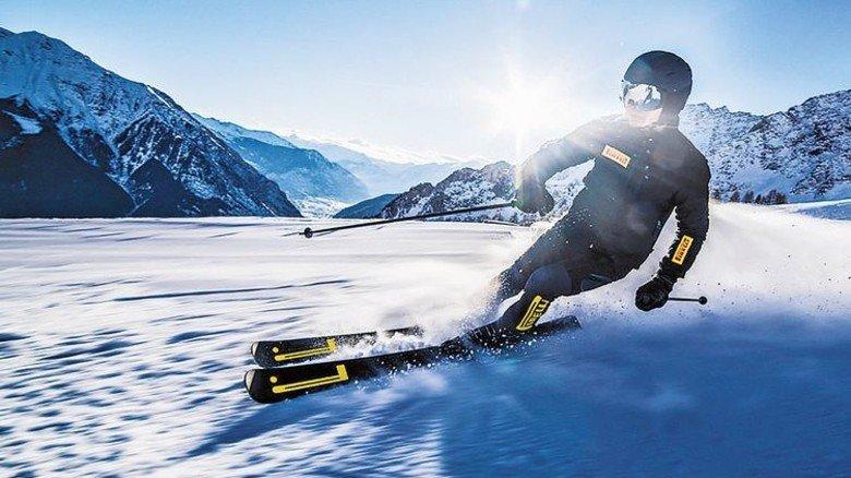 Ski vom Reifenhersteller: Pirelli hat eigene Carver auf dem Markt. Foto: Pirelli