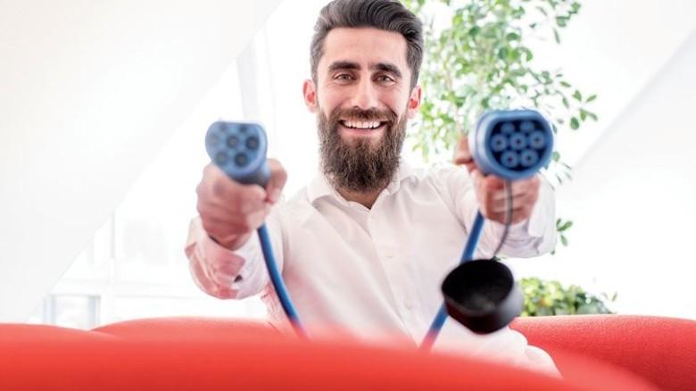 Zielstrebig: Der gelernte Verfahrensmechaniker zeigt sich privat und beruflich flexibel. Foto: Moll