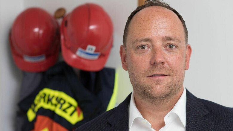 Herausforderung angenommen: Tobias Limbach, Leiter des Gesundheitsmanagements und des werkärztlichen Dienstes bei Röhm in Worms, kümmert sich um die Sicherheit der Mitarbeiter in Zeiten des Corona-Virus.