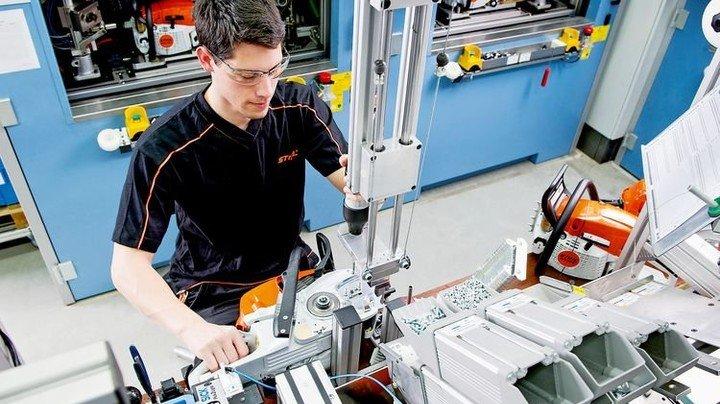 Stark: Die Stihl-Geräte aus Waiblingen sind in den USA sehr gefragt. Foto: Werk
