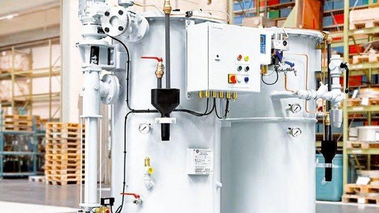 Saubere Sache: Der Bilgewasser-Entöler reinigt Schmutzwasser. Foto: Werk