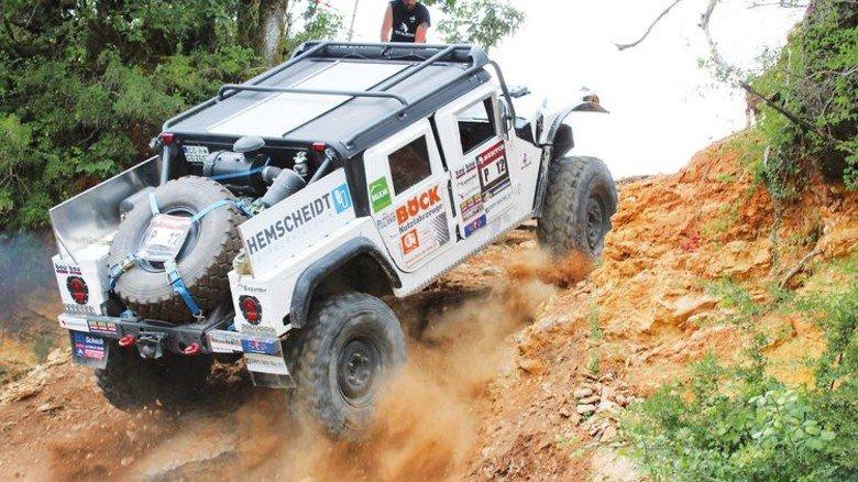 Raubein in der Pampa: In diesem Wagen zeigt ein Hemscheidt-Fahrwerk, was es kann. Foto: Werk