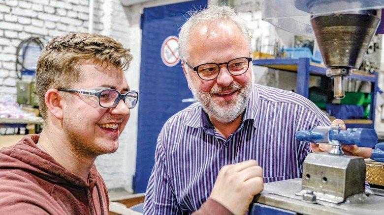 Gewinn für den Betrieb: Geschäftsführer Thomas Hüttenhein hat für den reibungslosen Übergang gesorgt.