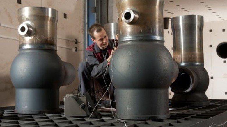 """Hier entspannen Gehäuse: Andreas Balsliemke in der """"Garage"""". Foto: Moll"""