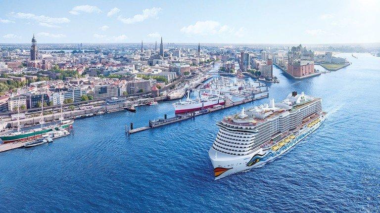 Bühnenprogramm aus der Hafenstadt: Alle Effekte der Shows auf der Aida plant das Kreuzfahrt-Unternehmen zentral im Entertainmenthaus in Hamburg.