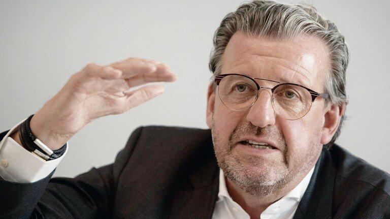 Stefan Wolf, Präsident des Arbeitgeberverbands Gesamtmetall.