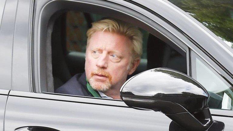 """Angeblich insolvent: Ex-Tennisstar Boris Becker. Nach dem Recht an seinem britischen Wohnsitz dürfte er jedenfalls einen """"angemessenen Betrag"""" seines Einkommens behalten – und das Eigenheim. Foto: Getty"""