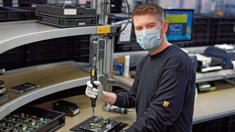 Garz & Fricke: Der Hamburger Betrieb setzt unter anderem auf Masken, um seine Beschäftigten vor dem Virus zu schützen.