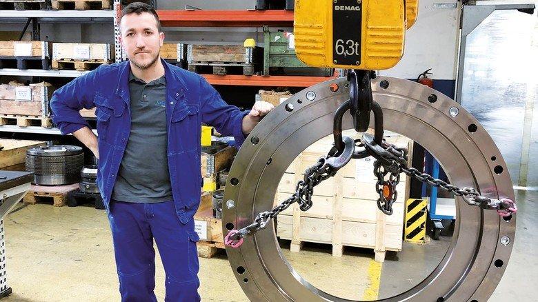 Maschinenbauer Stromag: Die schwächelnde Pfund-Währung macht die Bremsen und Kupplungen aus Unna in Großbritannien automatisch teurer.