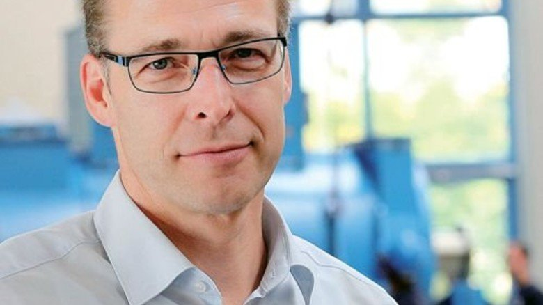 """Wir haben uns ständig ausgetauscht, weil das wichtig für die Arbeit ist."""" Achim Pedroß, Teamleader Proposals USV bei der Piller Group. Foto: Gossmann"""