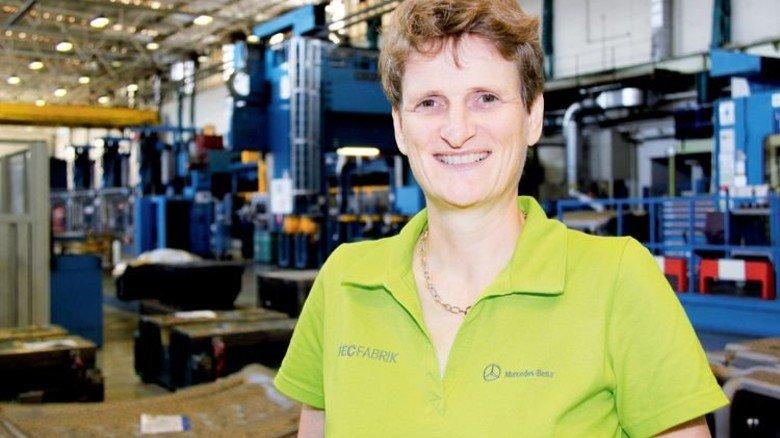 Engagiert: Kristine Fritz in ihrem Zuständigkeitsbereich… Foto: Werk