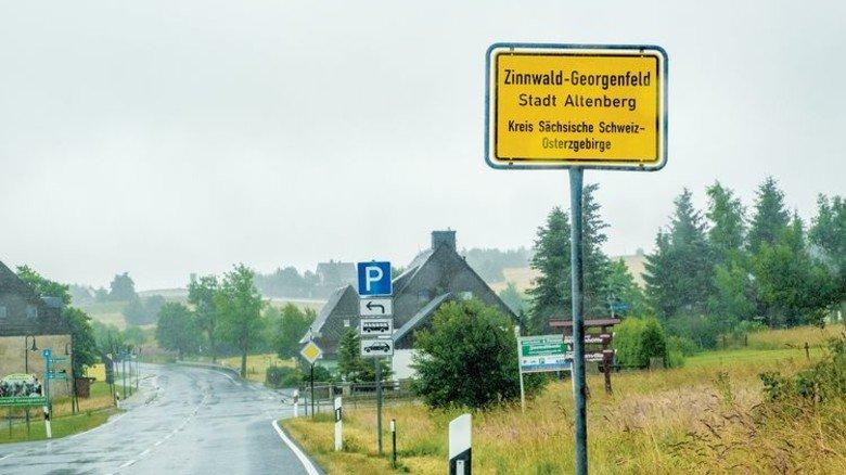 Traditionsreich: In Zinnwald blühte jahrhundertelang der Bergbau. Foto: Roth