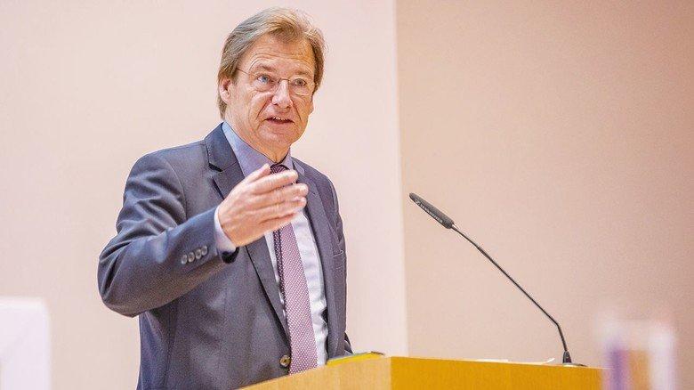 Hob die Bedeutung der richtigen Denkweise hervor: Volker Schmidt, Hauptgeschäftsführer des Arbeitgeberverbands NiedersachsenMetall.