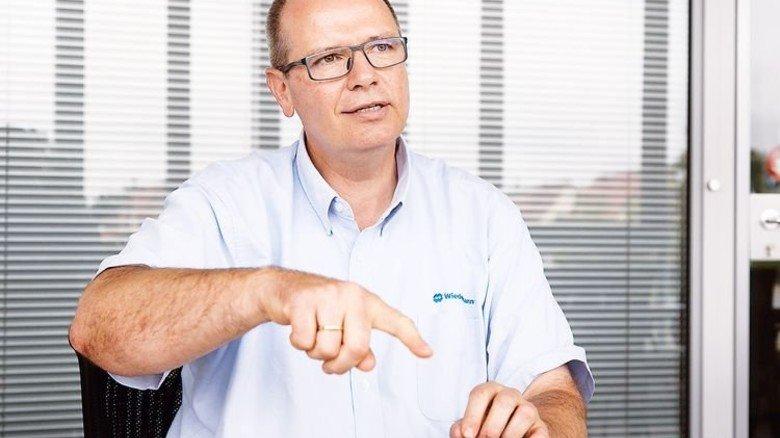 """""""Innovationen sind unsere Lebensversicherung."""" Jürgen Wiedenmann, Unternehmer. Foto: Mierendorf"""