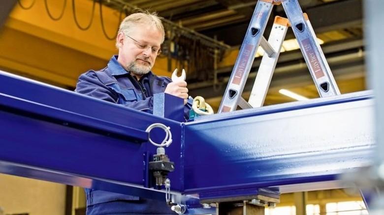 Gebaut wird die neue Mini-Fabrik bei Weckenmann in Dormettingen. Foto: Eppler