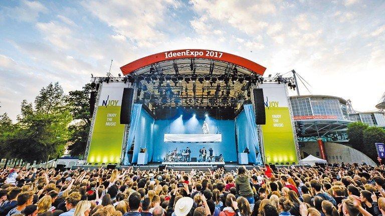 Deutschlands größte Jugend-Party: Zur IdeenExpo 2017 kamen 350.000 Besucher.