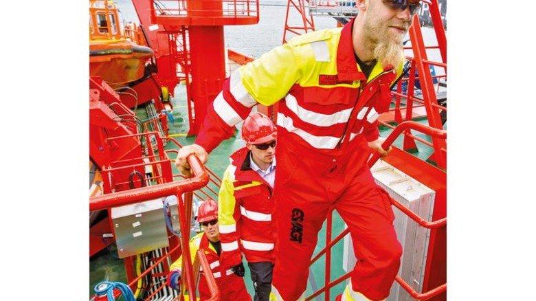 Offshore-Kompetenz: Die Esvagt-Techniker haben eine Menge Erfahrung in das Projekt eingebracht. Foto: dpa