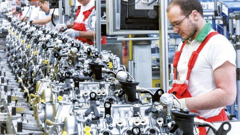 Effiziente Arbeitsteilung: Audi produziert in Ungarn zweiMillionen Motoren für den Konzernverbund. Foto: Werk
