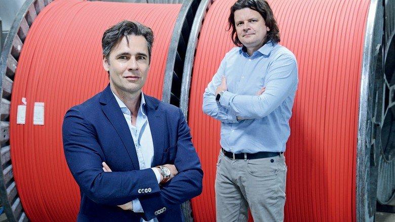 Jetzt Firmenchefs: Matthias Orth (links) und Matthias Klug wollen neue Märkte erschließen.