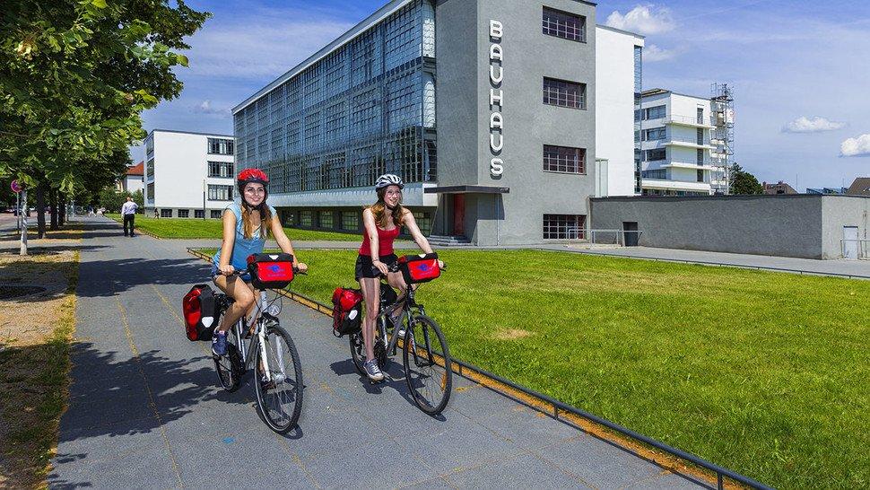 Das Bauhaus in Dessau: Feiert im Jahr 2019 sein 100. Jubiläum.