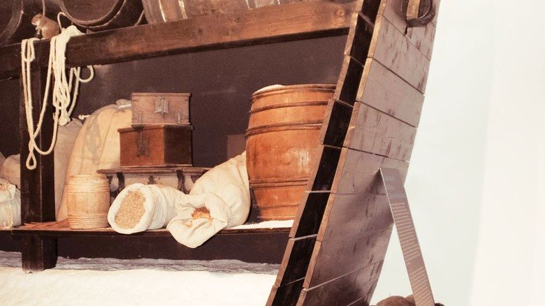 Museumsstück: Querschnitt eines alten Handelsschiffs. Foto: Deutsches Salzmuseum