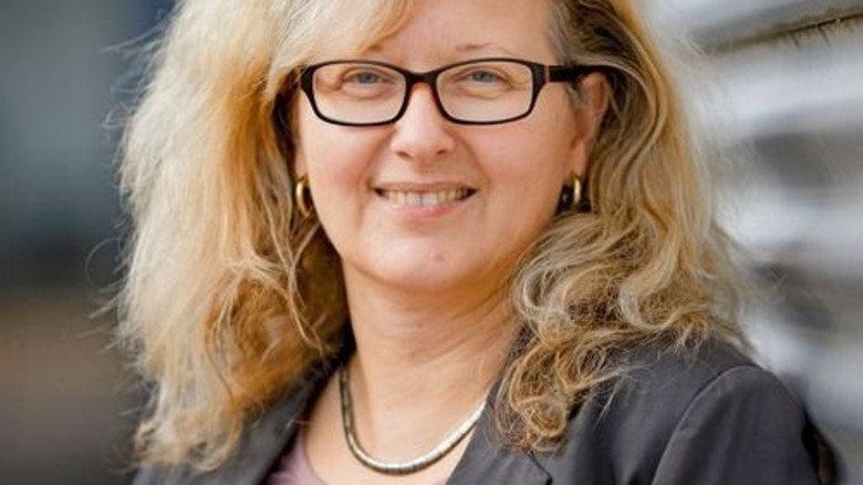 """""""Gesundheitsmanagement rechnet sich."""" Ute Hellger, Leiterin der Personalabteilung. Foto: Stoppel"""