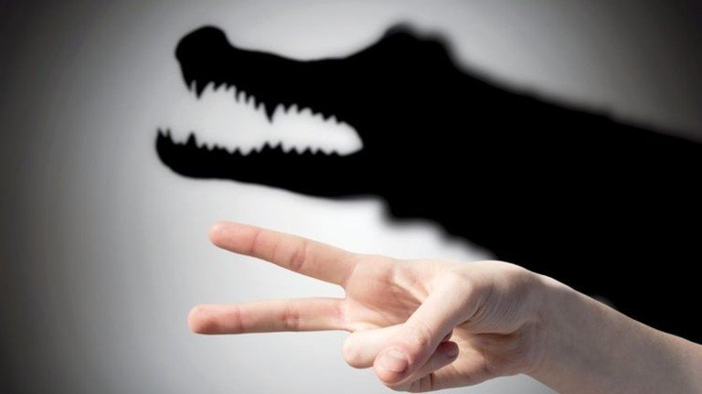 Unlogisch: Oft fürchten wir uns vor Gefahren, die gar keine sind. Foto: Adobe Stock