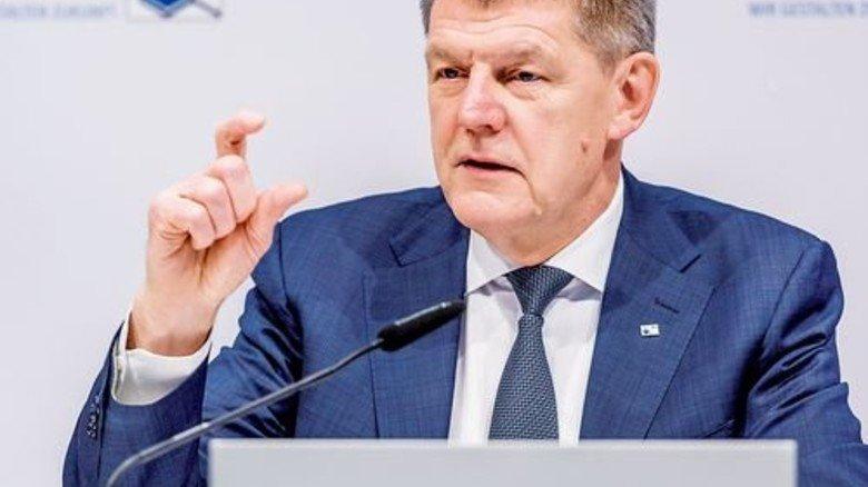 Utz Tillmann, Hauptgeschäftsführer des Verbands der Chemischen Industrie in Frankfurt. Foto: VCI