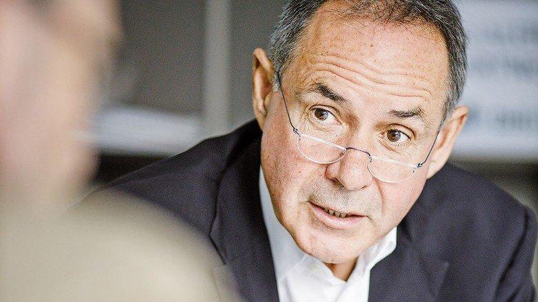 """""""Wir haben die geringste Abbrecherquote."""" Professor Arnold van Zyl, Präsident der DHBW"""