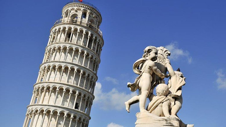 Weltbekannte Schieflage: Der Turm von Pisa. Foto: Adobe Stock
