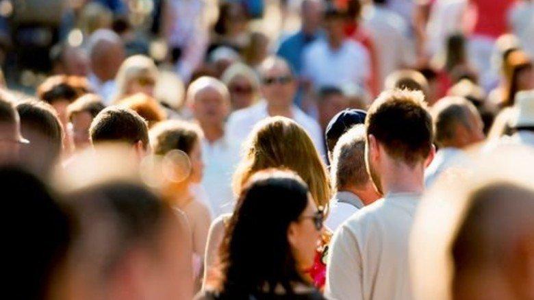 Belebte City: Die Einwohnerzahl wächst kräftig in den nächsten Jahren. Foto: Fotolia