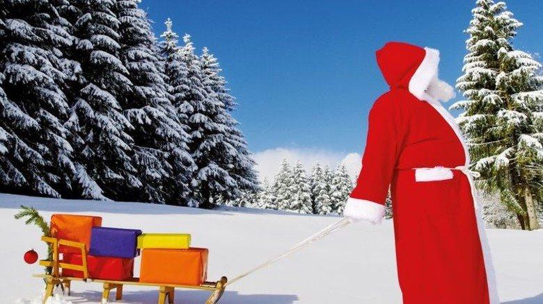 Päckchen gehören zu Weihnachten: Laut Handelsverband gibt jeder von uns 466 Euro dafür aus. Foto: iStock