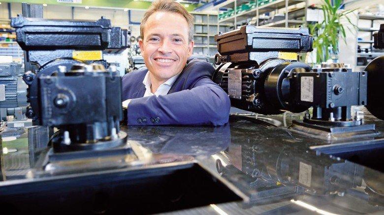 Stolzer Unternehmer in der dritten Generation: Carsten Rahier. Foto: Scheffler