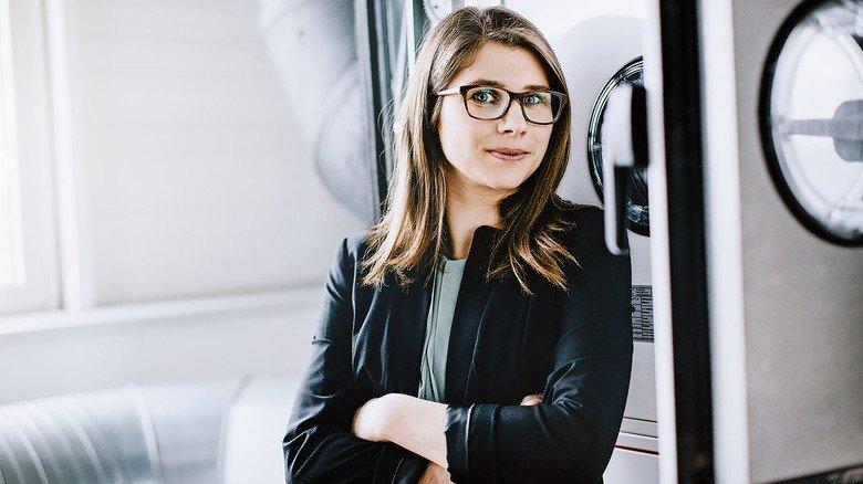 Guter Job: Wirtschaftsingenieurin Eva-Maria Fenzl fühlt sich bei Wolf wohl.